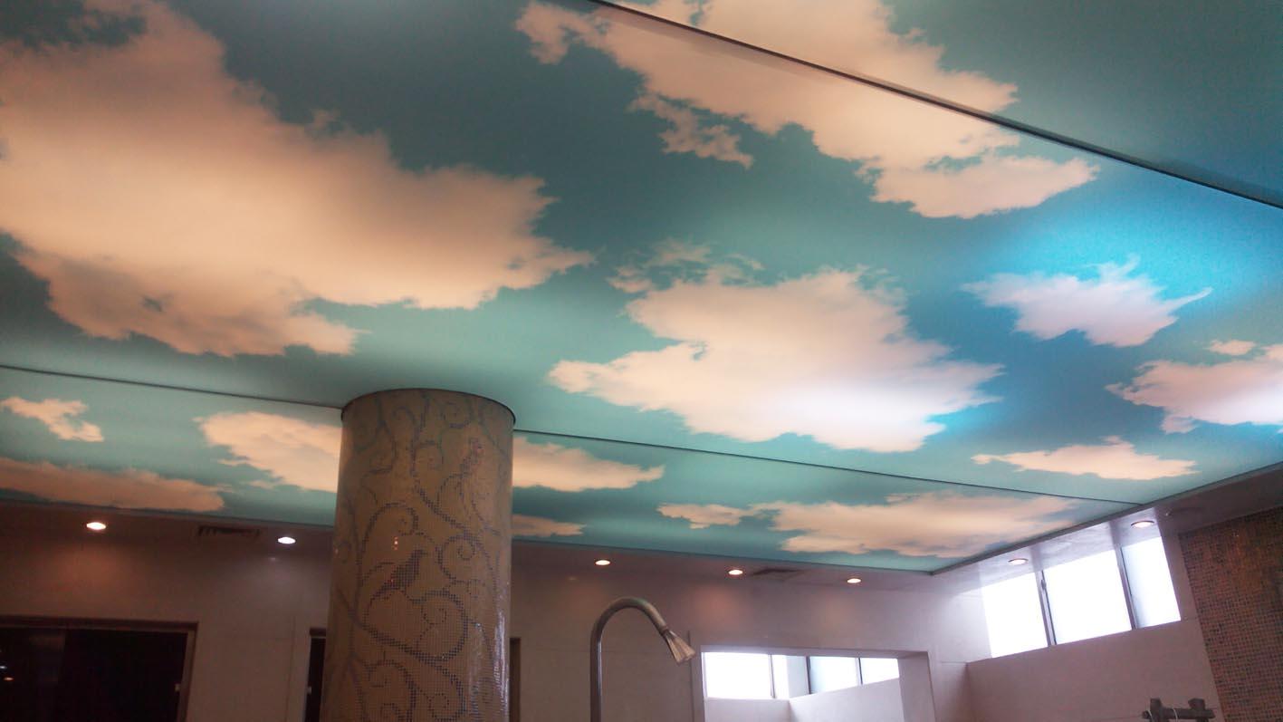 山东枣庄蓝天白云吊顶